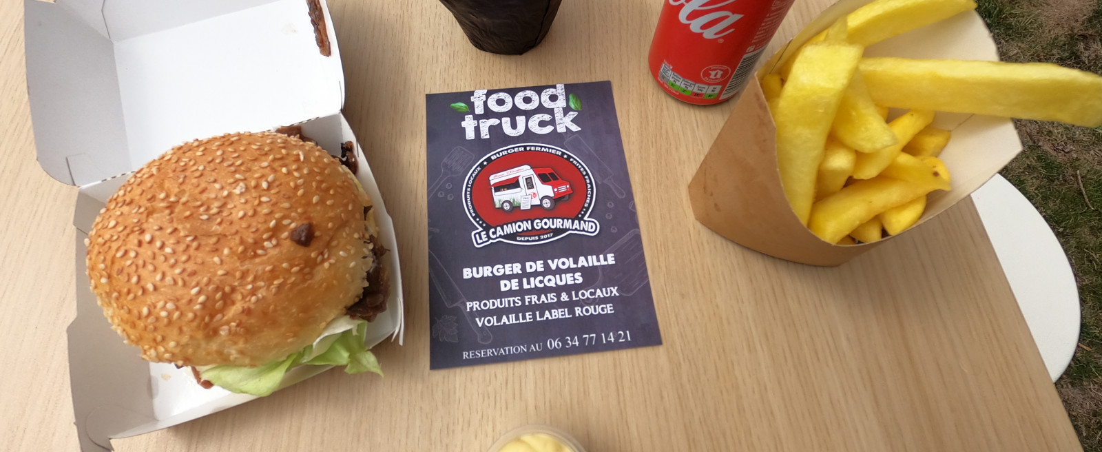 Le Camion Gourmand - Food truck