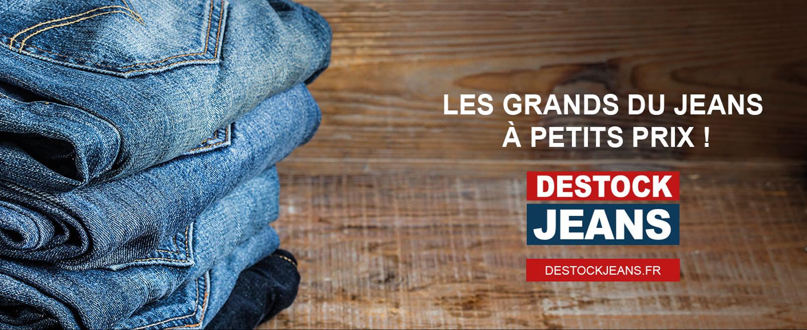 Jeans de grandes marques pas cher - Channel Outlet