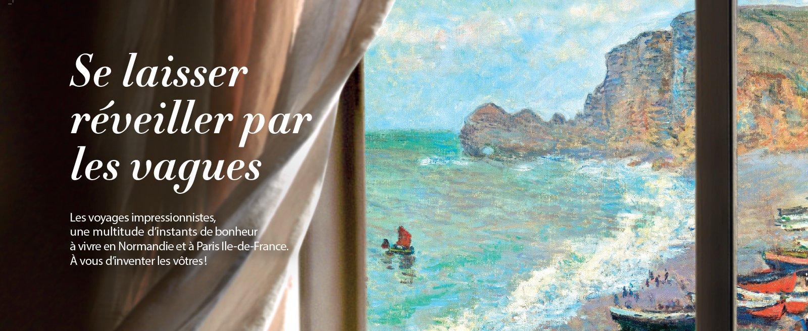 Exposition Les Voyages Impressionnistes - Honfleur Normandy Outlet