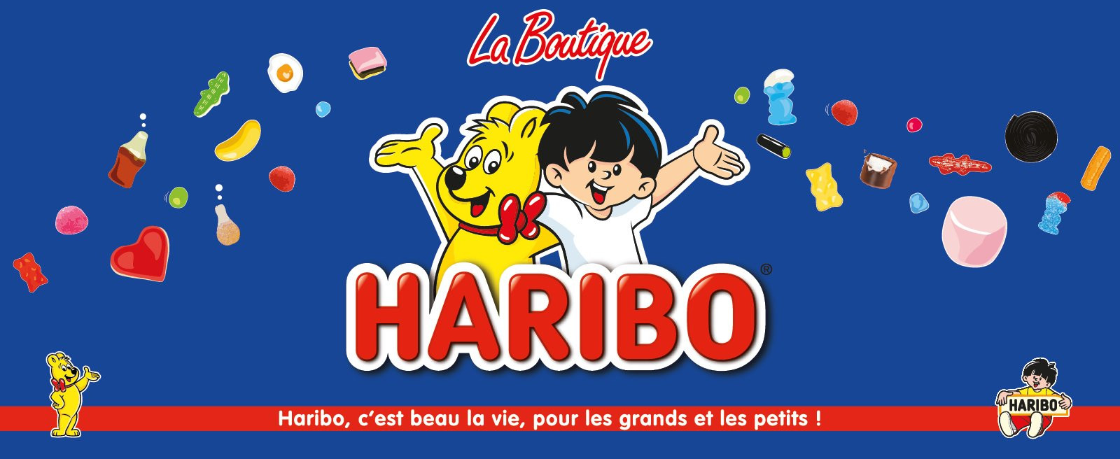 Boutique Haribo - Usines Center