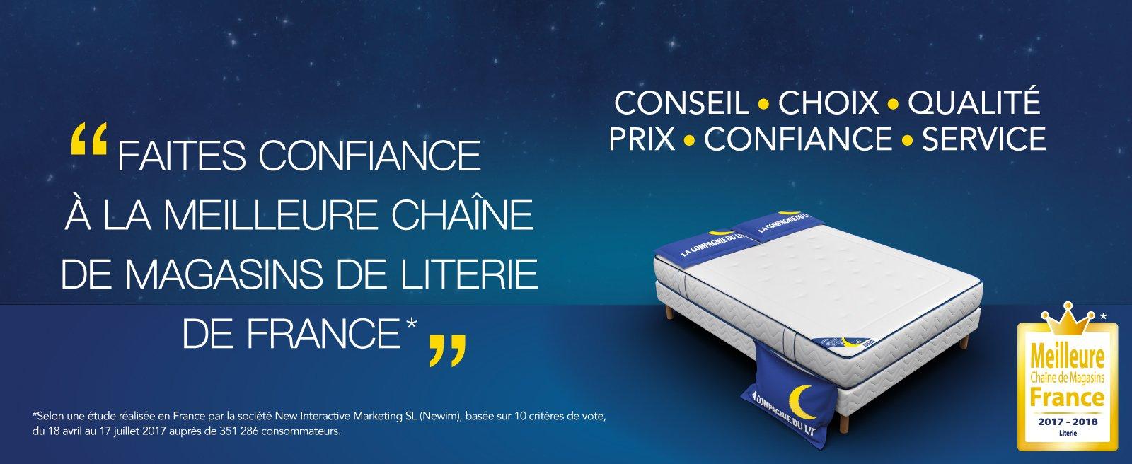 Boutique la compagnie du lit prix r duit toute l 39 ann e - Compagnie du lit boulogne ...