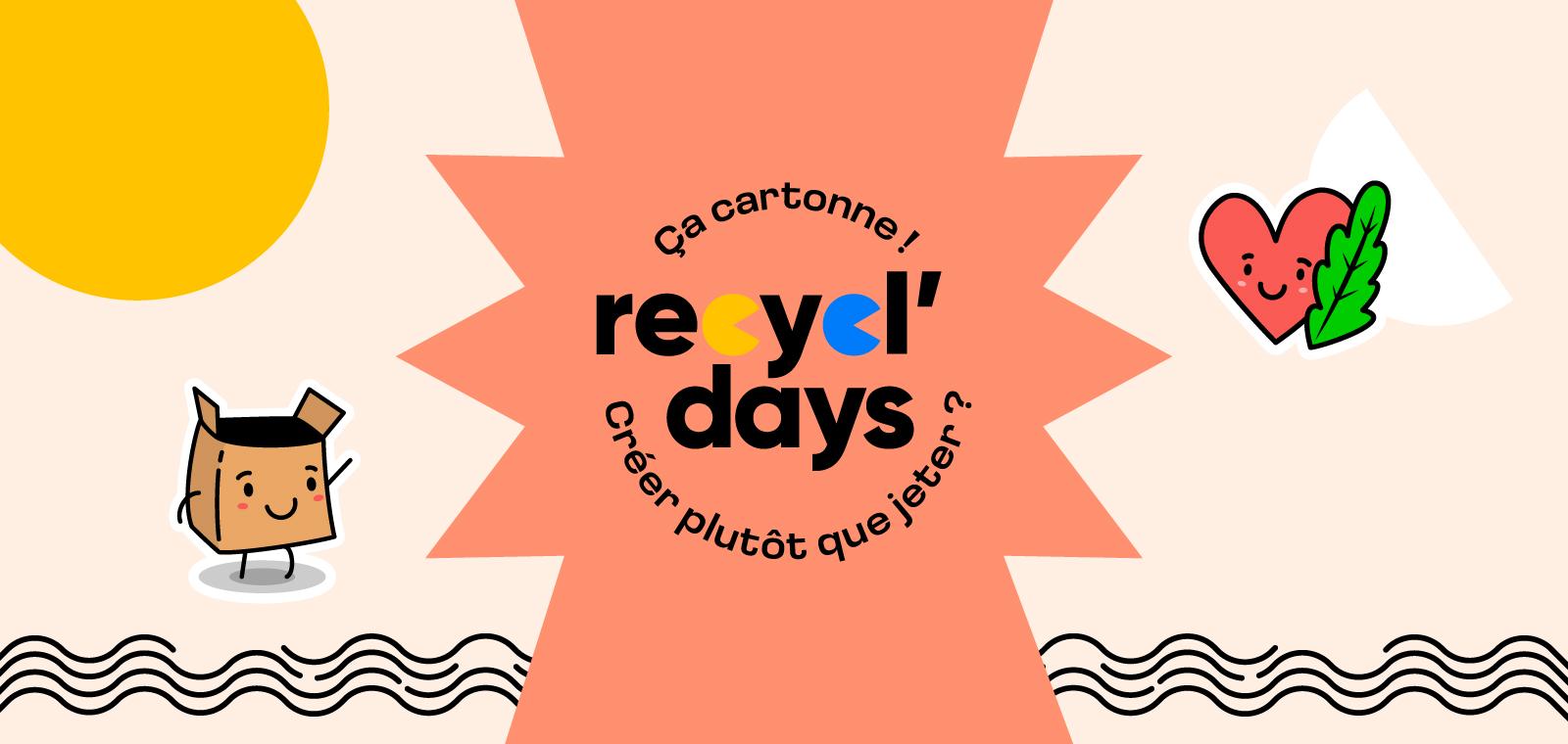 Recycl'Days du 15 au 26 septembre