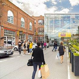 L'Usine Roubaix - Centre commercial outlet vue extérieure