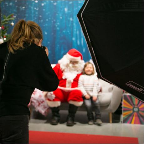 Photo avec le Père Noël gratuite