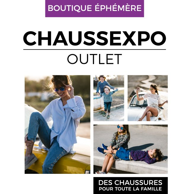 Boutique éphémère Chaussexpo