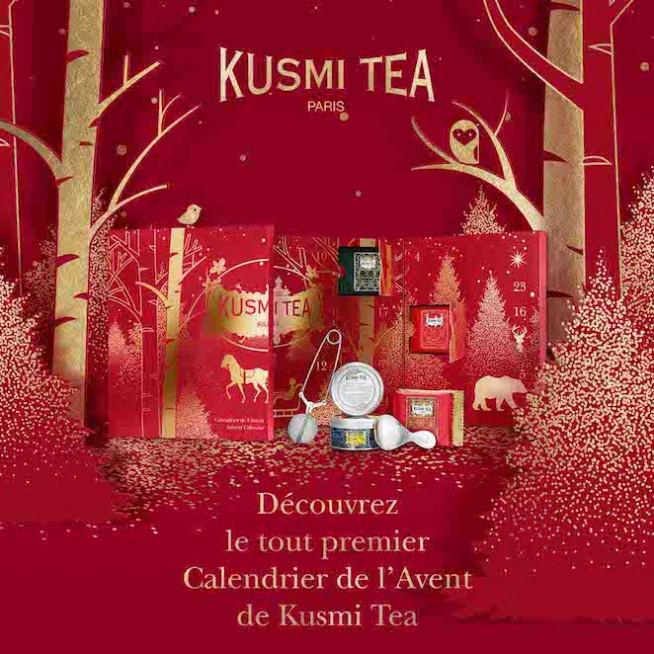Calendrier de l'Avent Kusmi Tea Nailloux Outlet Village
