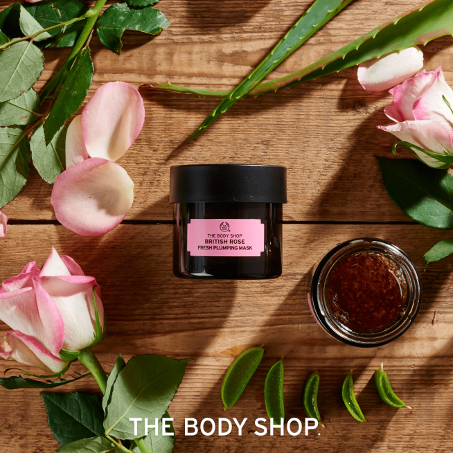 Masque rose The Body Shop