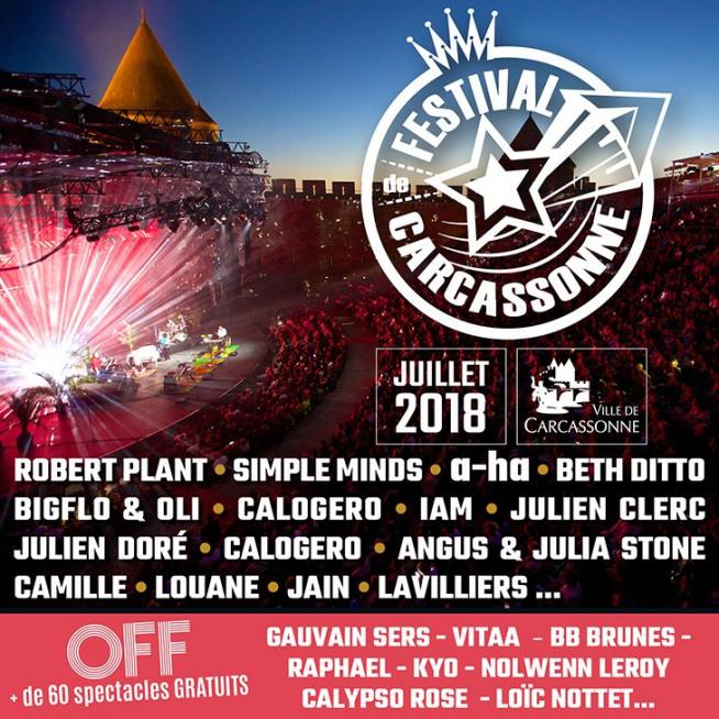 Festival de Carcassonne 2018 - Partenaire