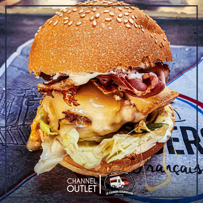 L'un des savoureux french burger !