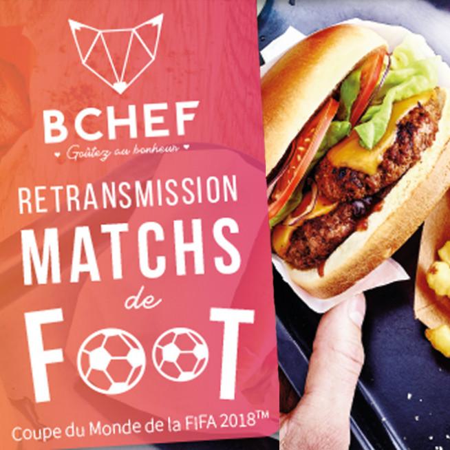 Coupe du Monde de Foot chez Bchef - L'Usine Mode & Maison