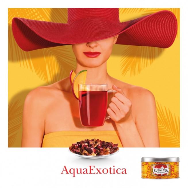 Nouvelle infusion de fruits Kusmi Tea : AquaExotica
