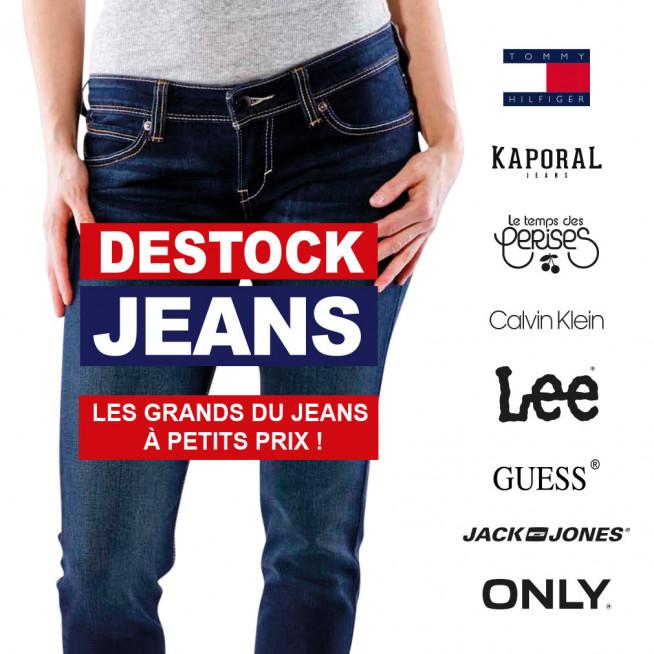 Jeans de grandes marques pas chers