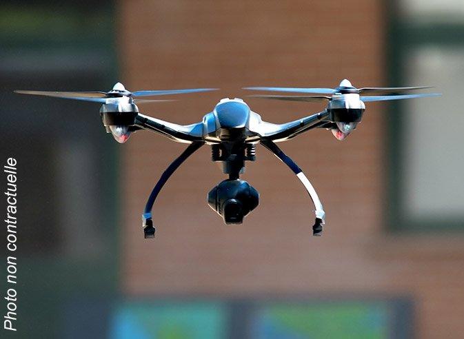 Drone à gagner à Channel Outlet Store