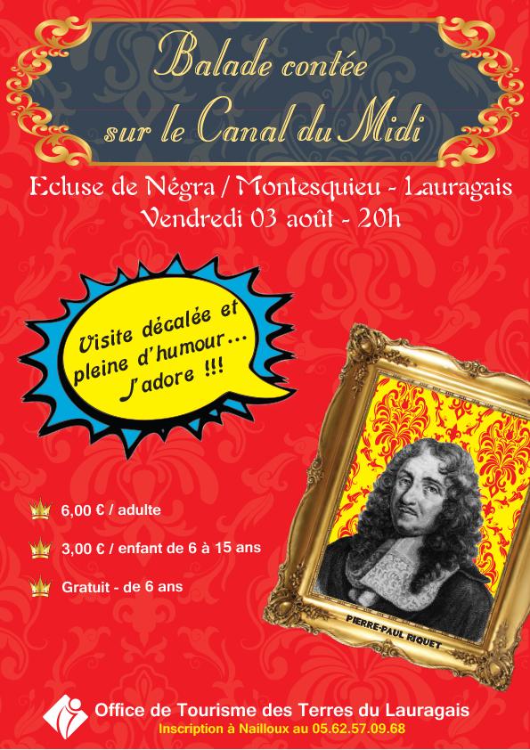 3 août - Balade contée sur le Canal du Midi