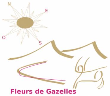 Logo Fleurs 2 Gazelles