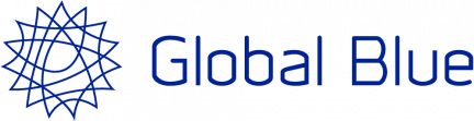 Logo Global Blue blanc