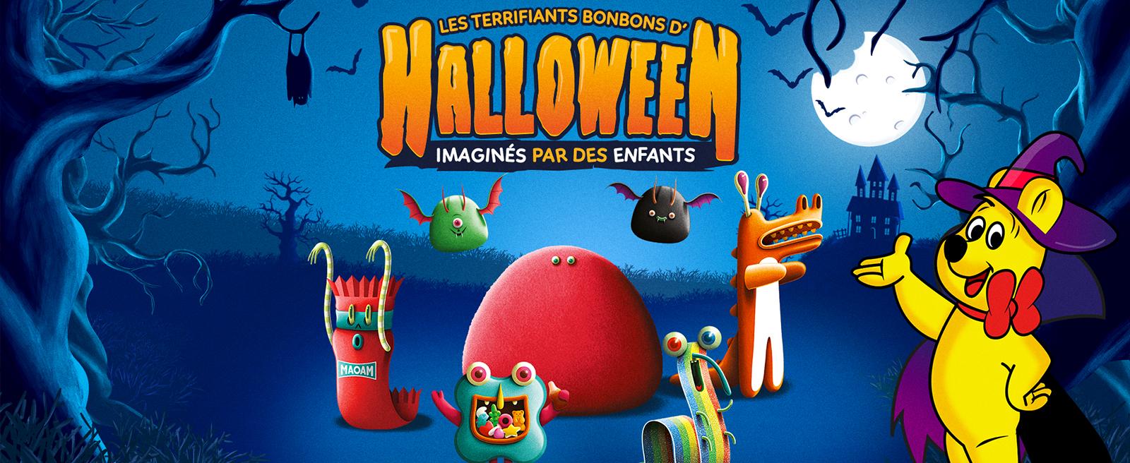 Bandeau Halloween Haribo