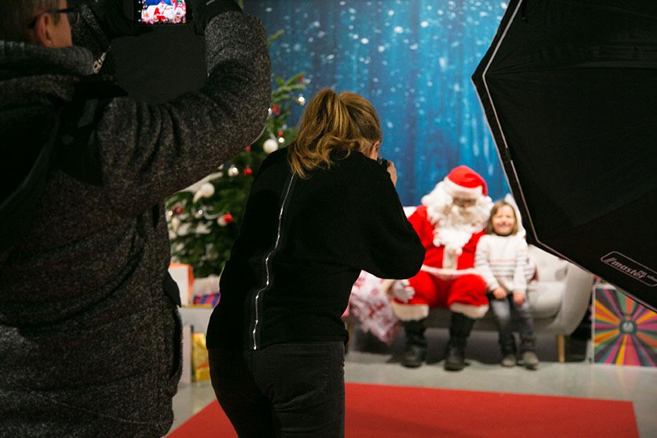 Rencontre et photo avec le Père Noël