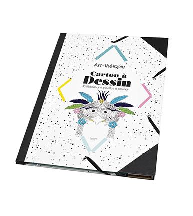 Carton à dessin Art Thérapie - Lisons Moins Cher