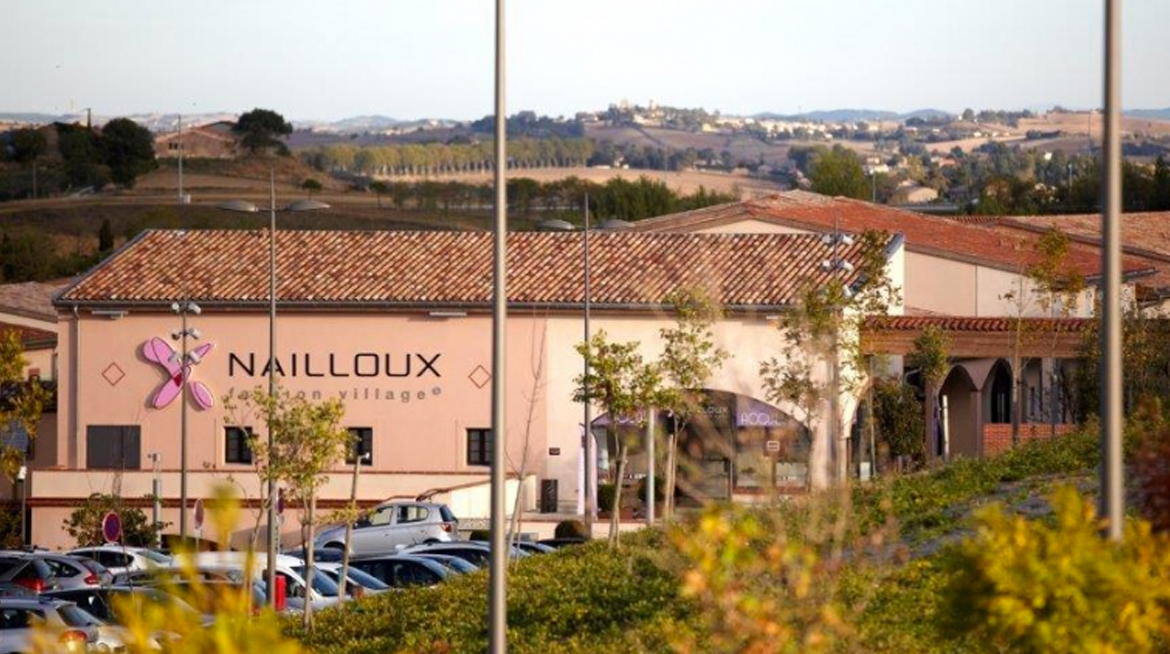 Entrée de Nailloux Outlet Village