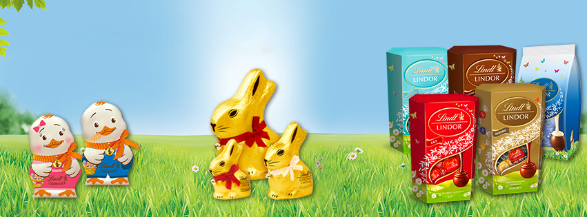 Bandeau chocolats Lindt
