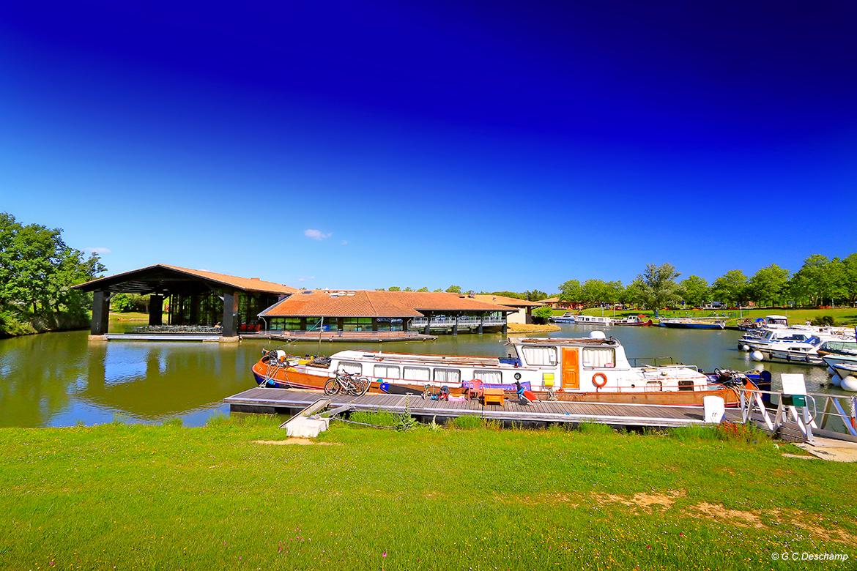 Canal Port Lauragais